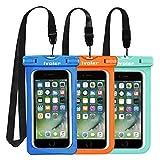 iVoler Housse Coque Étanche Universel Waterproof Case Bag pour iPhone, Samsung,...