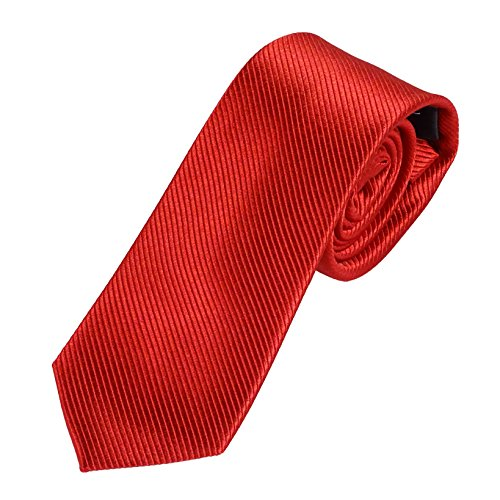 Pietro Baldini Krawatte uni rot mit edler Struktur,100% Seide, handgefertigt,sehr edel und elegant. Wunderschöne Struktur. Design D30447-M15