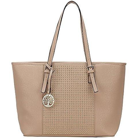 HB Style - Bolsa de algodón de lujo niña Mujer