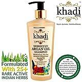 Khadi Global Moroccan Argan Hair Shampoo Rosemary Tea Tree Geranium & Peppermint Essential