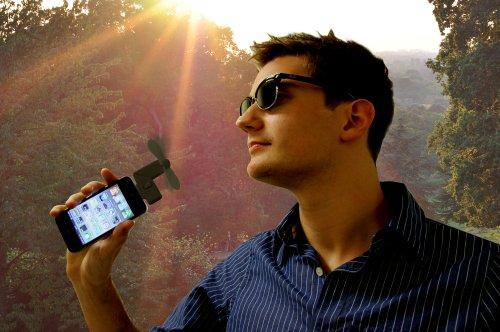 Thumbs Up IP4FAN Ventilator für Apple iPhone 3/4 (Ipod 4g Verwendet Touch)
