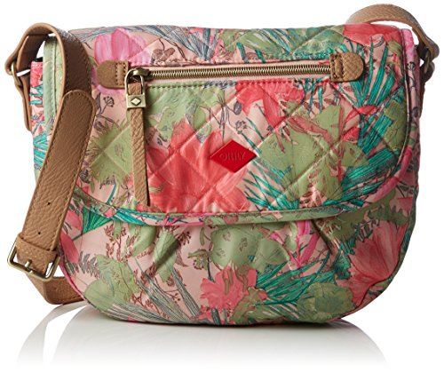 Oilily FF M Shoulder Bag OCB6107-107 Damen Schultertaschen 26x20x9 cm (B x H x T), Pink (Melon 107) (Print Finden Womens Handtaschen)
