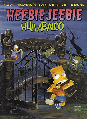 ouse of Horror Heebie-Jeebie Hullabaloo (Les Simpsons Halloween 1)