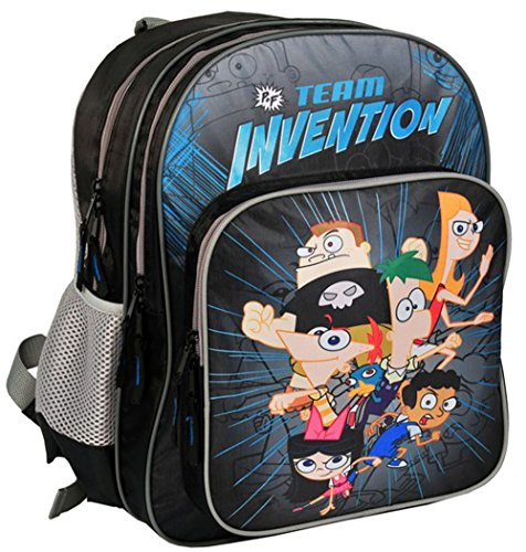Ergonomic backpack school backpack Disney Phineas and Ferb Perry Backpack