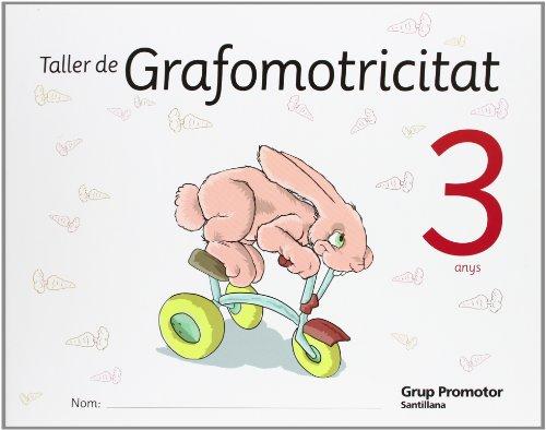 Taller de Grafomotricitat 3 Anys Catalan Grup Promotor - 9788479184100