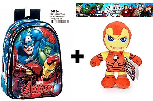 Plüsch Iron Man 30cm Qualität soft + Kinder - Rucksack 37cm