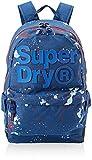 Superdry Herren 2 Tone Splatter Montana Rucksack, Blau (Cobalt Marl), 30x45x15 Centimeters