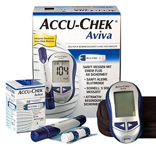 accu-tech-chek-377-de-mmol-aviva-glucometro-messgerat-juego-mmol-dl