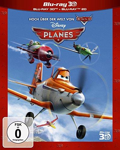 Planes 3D + 2D (Erstausgabe - Pappschuber) (Disney Aladdin Blu-ray)