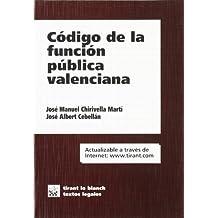 Código de la función pública valenciana