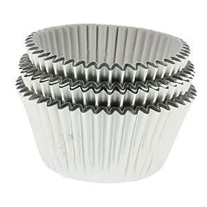 Silver Foil Cupcake Cases