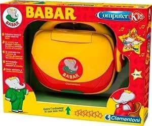 Clementoni - Ordinateur pour enfant - Babar