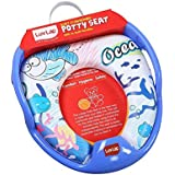 LuvLap Baby Potty Seat Blue Ocean