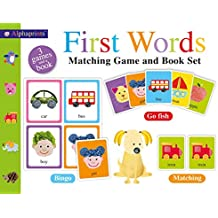 Alphaprints First Words Matching Set [With Picture Cards]