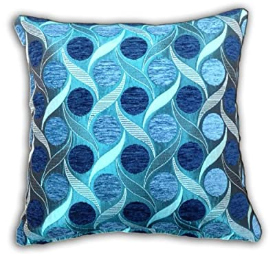 Cushion Cover Miami Teal produced by S Green & Sons - quick delivery from UK.