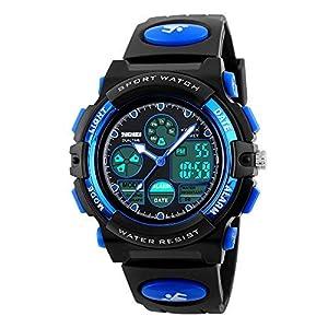 Atimo Digital-Armbanduhr, multifunktional, wasserdicht, für den Sport, mit Alarm, Stoppuhr, ideales Geschenk für Kinder und Jugendliche