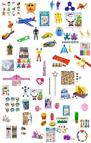 geo-versand 24 x Jungen Spielzeug kleine Spielsachen für Adventskalender Füllung Günstig unter 1 Euro Spielsachen (24 TLG. Jungen Spielsachen)