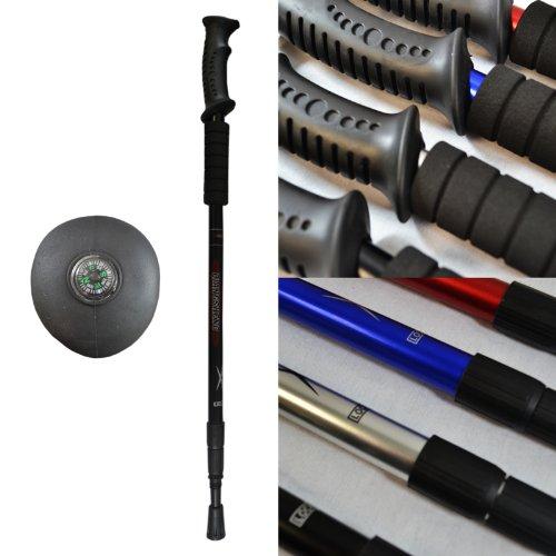 black-telescopic-hiking-walking-trekking-anti-shock-stick
