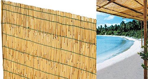 Cerco de bambú 2x 3 m