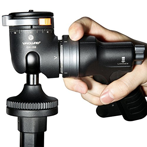 Bargain VANGUARD Alta+ 263AGH Aluminium Tripod with GH-100 Pistol Grip Ball Head on Line