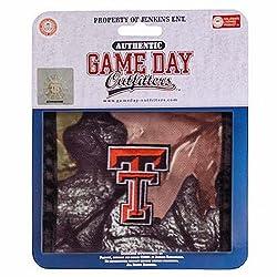 NCAA Texas Tech Red Raiders Mens Wallet Bifold Black