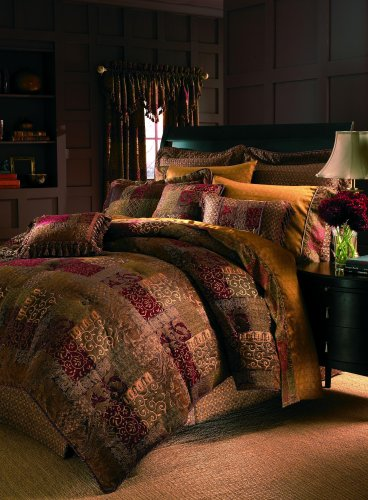 Croscill Galleria Comforter Set, Queen, Red by Croscill - Croscill Tröster-sets