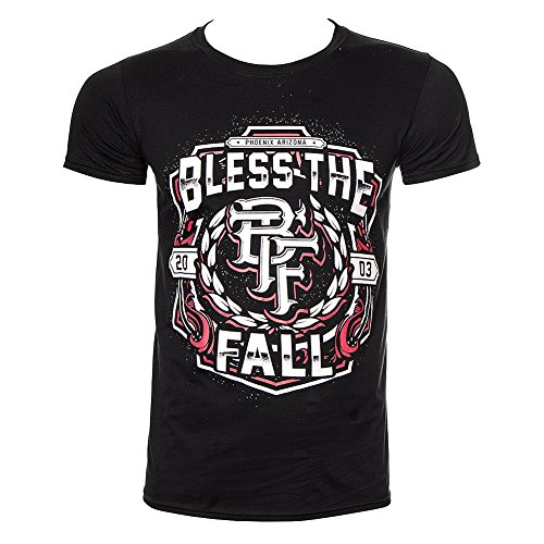 Blessthefall Crest T Shirt (Nero) - Small
