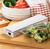 Tragbare Wiederverschließungs- und Abwehr-handlicher Plastiklebensretter-Aufbewahrungsbeutel-Versiegeler Halten Sie Nahrungsmittelfrisches Verringern Sie überschüssigen Vakuumpacker