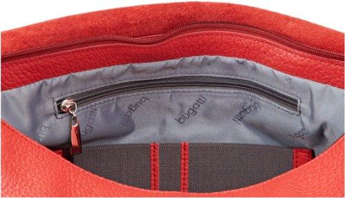 Bugatti Bags Kim Messenger Bag, Querformat groß 496688, Damen Umhängetaschen, Rot (rot 16), 33x26x14 cm (B x H x T) Rot (rot 16)