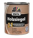 2 in 1 Holzsiegel - Imprägnierung 2,5 Liter Farbton Seidenmatt