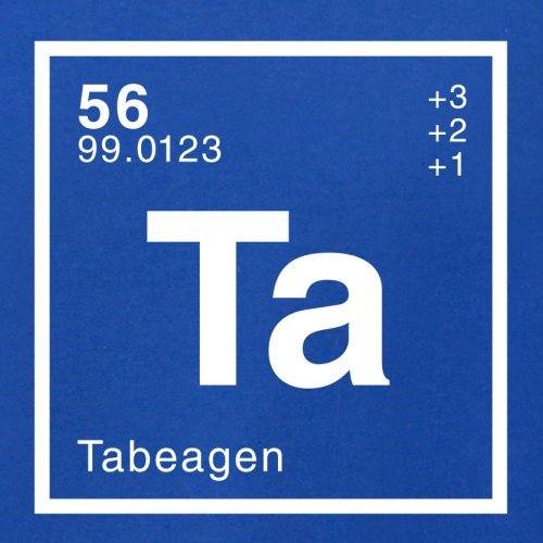 Tabea Periodensystem - Herren T-Shirt - 13 Farben Royalblau