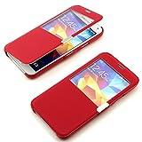 Flip Handy Case für das Samsung Galaxy S 5 Tasche Cover Schutz Hülle View Funktion mit Magnetverschluss ScorpioCover r