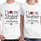 #6: DreamBag - I Love my Brother, Sister T-shirt