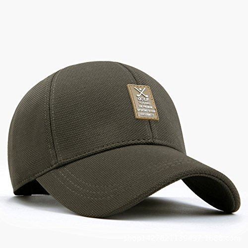Llxln Men S Spring  Summer Sun Hat Casual Sport Baseball Cap With Elastic  Fabric 46d39d17f36e