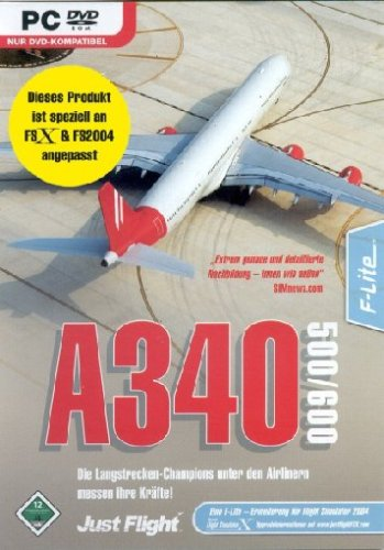 Software Discount 99 Flight Simulator X - A 340-500/600