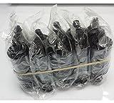 Pack 5 Unidades - Ribbon R2011 Cinta de impresora para tarjetas PVC (1000 tarjetas, Evolis Pebble 4 / Dualys 3 / Quantum, color negro)