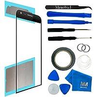 MMOBIEL Kit de Reemplazo de Pantalla Táctil para LG G5 H820 H830 H850 VS987 LS992 US992 (Negro) incluye pantalla de Vidrio / cinta adhesiva de 2 mm / Kit de Herramientas / Limpiador de microfibra / alambre Metálico