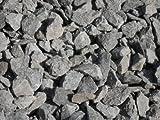 25 kg Anthrazit Basaltsplitt 16-32 mm - Basalt Splitt Edelsplitt Lava Lavastein - LIEFERUNG KOSTENLOS