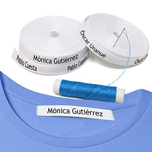 100 etiquetas coser ropa. Etiquetas personalizadas