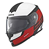 Schuberth S2 Deportes/Touring DVS Full Face casco de moto ELITE rojo