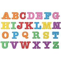 Zerodis Conjunto completo letras del alfabeto del bebé magnético números para niños Rompecabezas imán de nevera