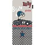Pirulos 70631630 - Colchoneta recta microfibra rally, color gris