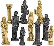 Design Toscano Gods of Greek Mythology Chess Set: Pieces Only