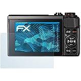 Canon PowerShot G7 X Mark II Protecteur d'écran - 3 x atFoliX FX-Clear ultra claire Film Protecteur Film Protection d'écran