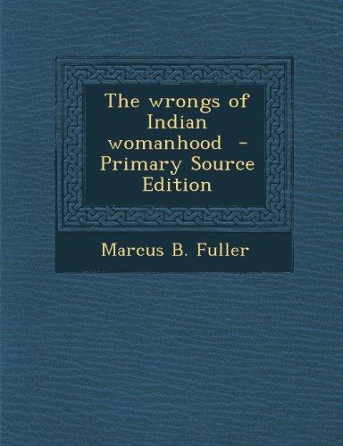 Wrongs of Indian Womanhood