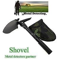 Militar pala plegable supervivencia pala de emergencia jardín Camping al aire libre herramienta pala de metal