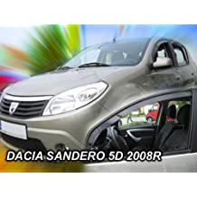 Windabweiser DACIA SANDERO I 5-türer  2008-2012 4-tlg HEKO dunkel Regenabweiser