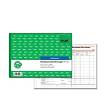 Sigel Forms – Travel Abrechnungen A5q Weekly Pack of 1