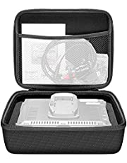 """Neewer EVA Monitor Storage Carrying Case(9.4x7.4x3.5""""/24x19x9cm) with Cutout Cube Block Sponge Foam Pad for NW759/760/74k Feelworld FW759/760/74k and other 7inch Monitor"""