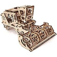 Ugears - 70010 - Une Moissonneuse-batteuse Est Le Kit Mécanique Pour La Construction
